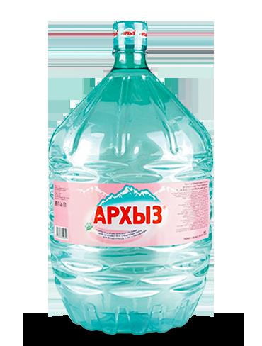 Вода Арзых, 19 литров одноразовая