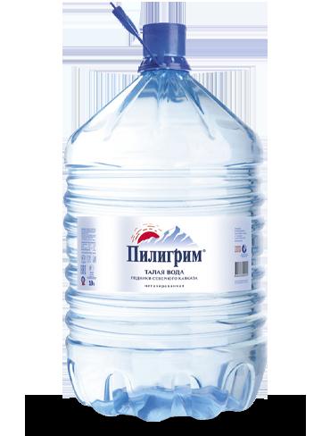 Вода Пилигрим, 19 литров одноразовая