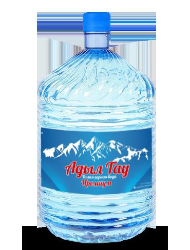 Вода Адыл-Тау в одноразовой таре, 19 литров