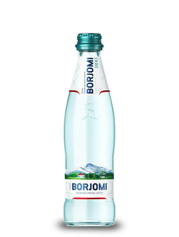 Вода Боржоми 0.33 литра, газ, стекло