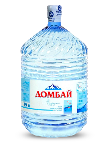 Вода Домбай Ульген в одноразовой таре, 19 литров