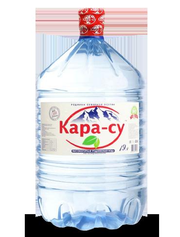 Вода Кара-су в одноразовой таре, 19 литров
