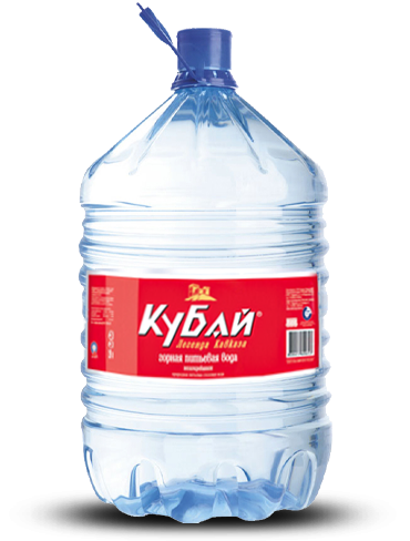 Вода кубай 19 литров