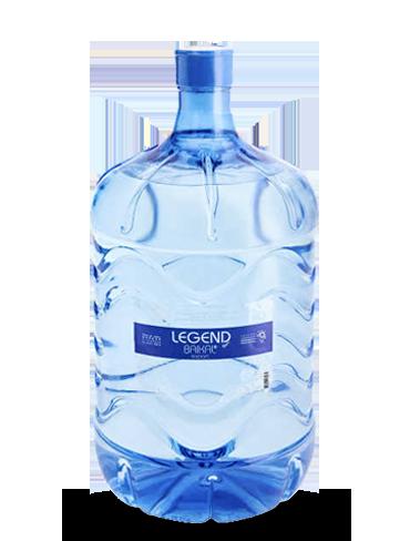 Вода Легенда Байкала в одноразовой таре, 11,3 литра