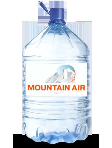 Вода Mountain Air в одноразовой таре, 19 литров