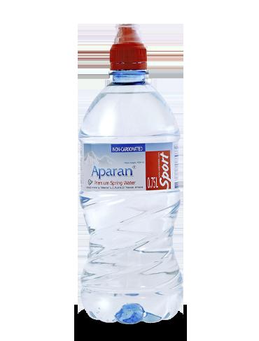 Родниковая вода Aparan 0.75л спорт/бут