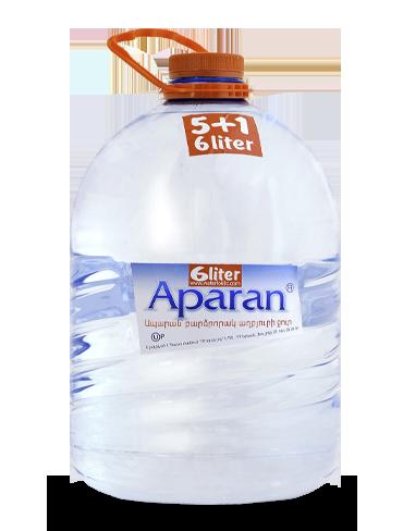 Родниковая вода Aparan 6л пэт/бут