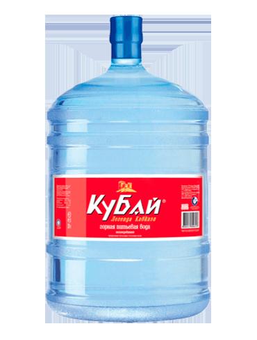 Питьевая вода Кубай 19 литров