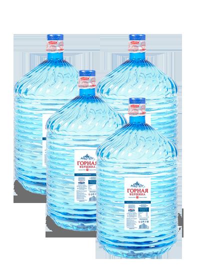 Питьевая вода Горная вершина 19 литров