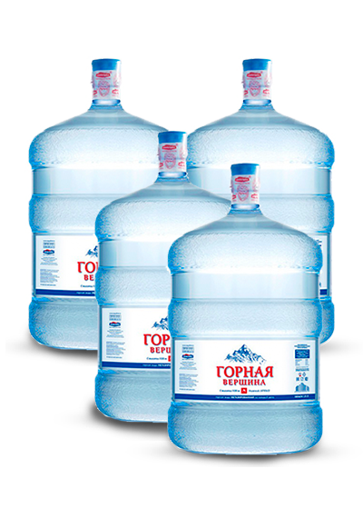 Питьевая вода Горная Вершина - 4 бутыли